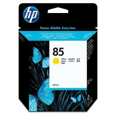 HP DesignJet 130 Supplies - Ink, 69, Ink-Yellow