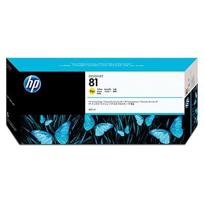 HP DesignJet 5000 Dye Supplies - Ink, Ink-Yellow