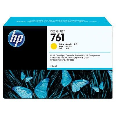 HP DesignJet T7100/7200 Supplies - Ink, 400, Ink-Yellow