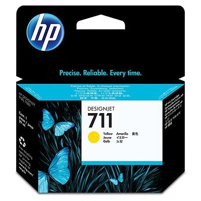 HP DesignJet T120 / T520 Supplies - Ink, 29, Ink-Yellow