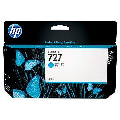 HP DesignJet T920/930/1500/1530/2500/2530 Supplies - Ink, 130, Ink-Cyan