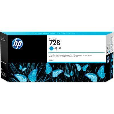 HP DesignJet T730/830 Supplies - Ink, 300, Ink-Cyan