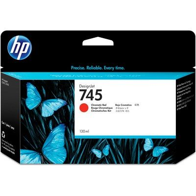 HP DesignJet Z2600/Z5600 Supplies - Ink, 130, Ink-Chromatic Red