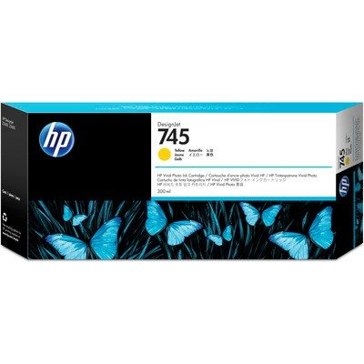 HP DesignJet Z2600/Z5600 Supplies - Ink, 300, Ink-Yellow