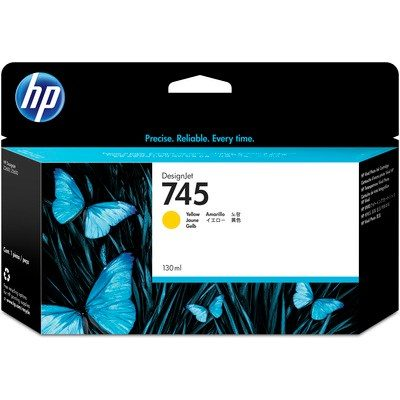 HP DesignJet Z2600/Z5600 Supplies - Ink, 130, Ink-Yellow