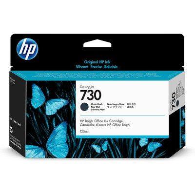 HP DesignJet T1700 Supplies - Ink, 130, Ink-Matte Black