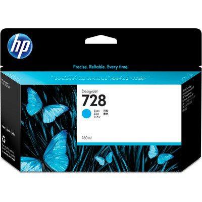HP DesignJet T730/830 Supplies - Ink, 130, Ink-Cyan