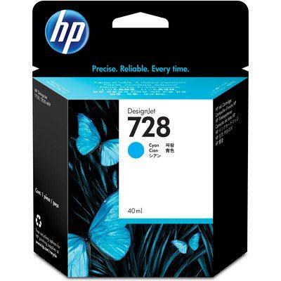 HP DesignJet T730/830 Supplies - Ink, 40, Ink-Cyan