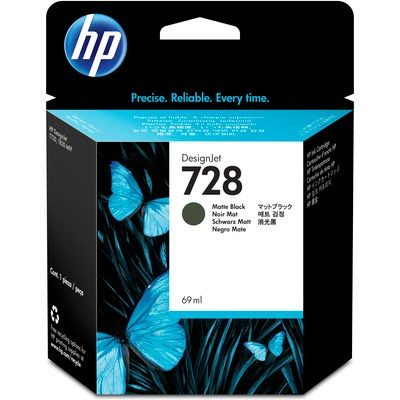 HP DesignJet T730/830 Supplies - Ink, 69, Ink-Black